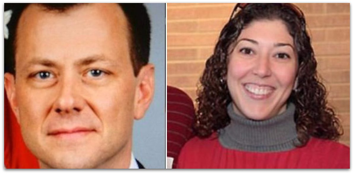Texts Between FBI Officials Peter Strzok & Lisa Page: 'F–k Trump, Loathsome, No Way He Gets Elected, But We Can't Take The Risk'