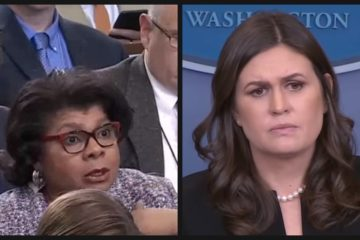 "ON FIRE! Watch Sanders School April Ryan: ""Your Mind Is In The Gutter"""