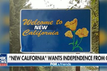 Not Joking! Conservatives In Communist California Launch Campaign To Divide State (Video)