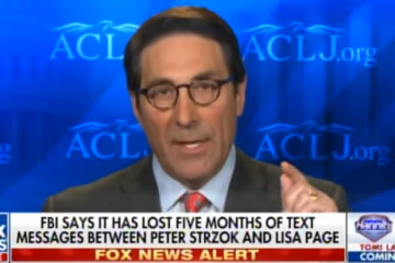 Trump Attorney: Strzok-Page Text Messages Show Comey Lied Under Oath & Committed A Felony