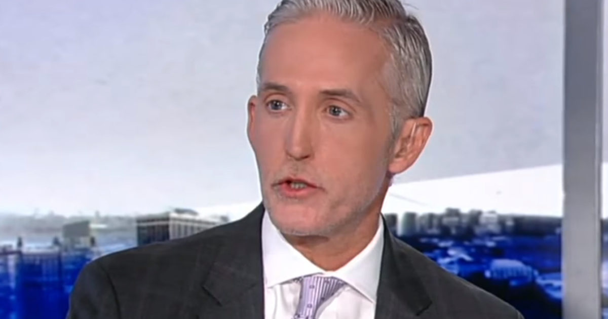 Trey Gowdy Just Dropped A Bombshell: He Won't Seek Re-Election