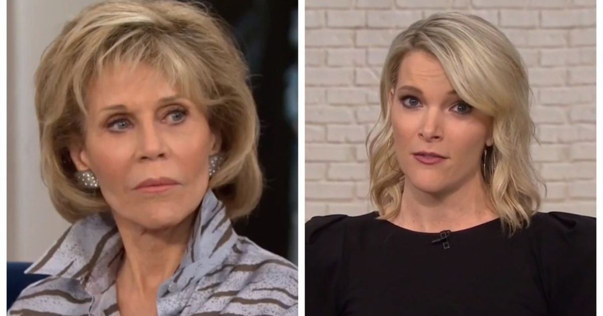 "OUCH! Megyn Kelly Goes Nuclear On ""Hanoi Jane"" Fonda Who Still Says ""She's Not Proud Of America"""