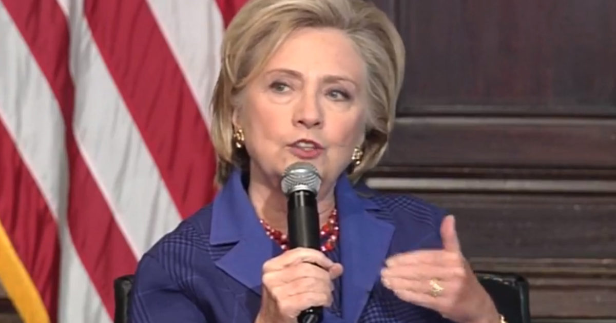 Hillary Breaks Her Silence Amid FISA Memo Firestorm & It Will Make Every Deplorable Mad (Video)