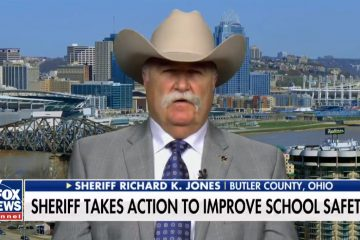 "Sheriff Richard Jones TAKES ACTION To Protect Schools: ""We can't wait for our government"" (Video)"