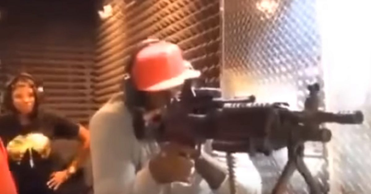 LeBron James Hates Assault Weapons... Until He's Shooting Them (Video)