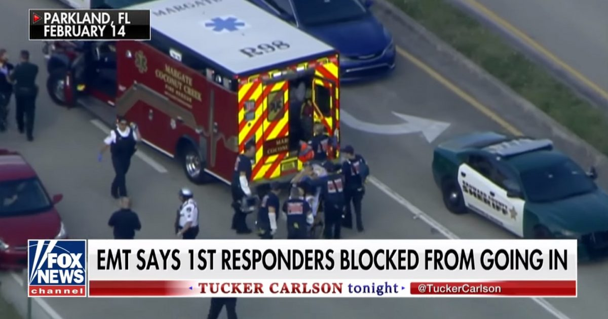 Broward Sheriff's Office Wouldn't Let Emergency Personnel Help The Shooting Victims