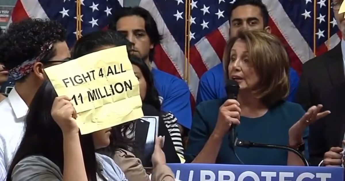 Pelosi Slams ICE 'Abuse of Power' for Arresting 'Law-Abiding, Patriotic' Illegal Aliens