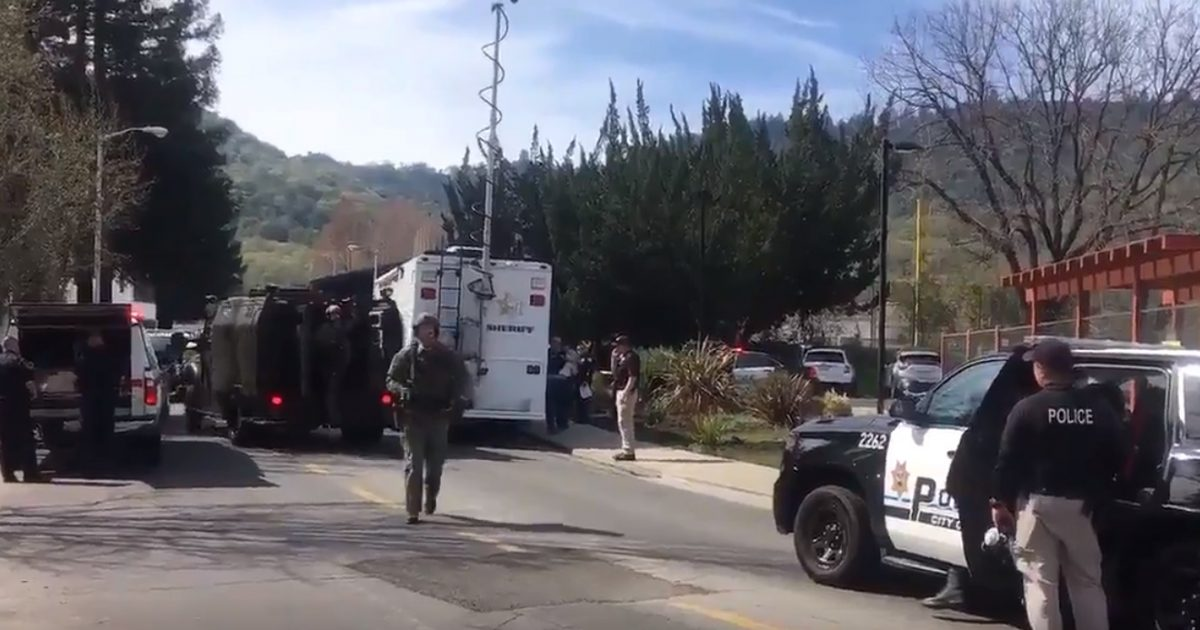 Active Shooter Takes Hostages At California Veterans Home (Video)
