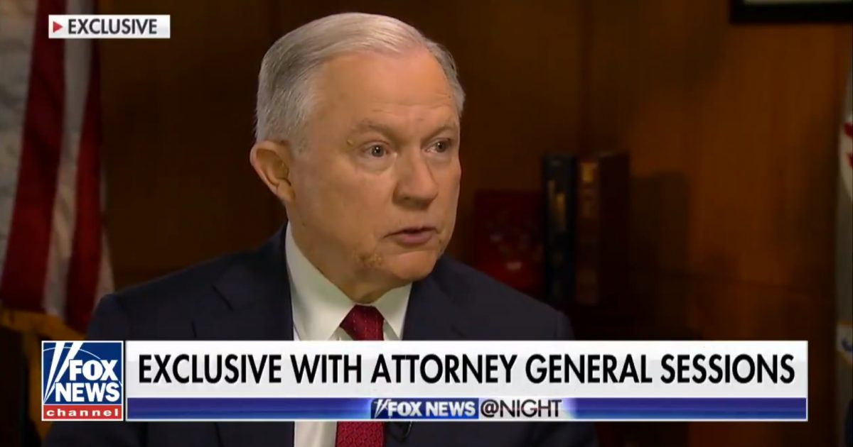 "AG's Office Confirms Sessions Appointed Separate ""Senior Federal Prosecutor"" To Investigate FISA Abuse"