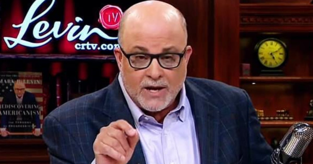 Mark Levin: It's Time For Attorney General Jeff Sessions To Step Aside