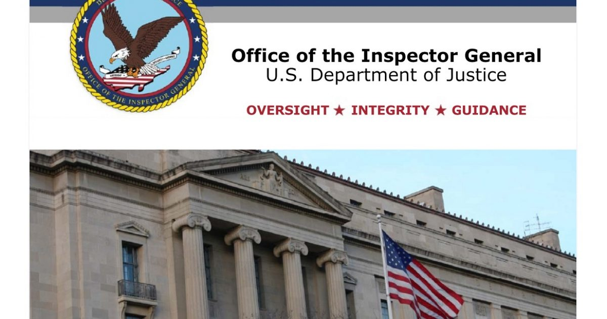 DOJ OIG McCabe Report Finds Obama's FBI and DOJ: Corrupt, Dishonest, Coordinated & Conspiring
