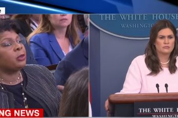 Sarah Sanders Zings CNN Reporter: Tells April Ryan She's Not Getting Down In The Gutter With Her