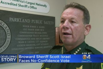 Broward County Sheriff Now Facing No Confidence Vote