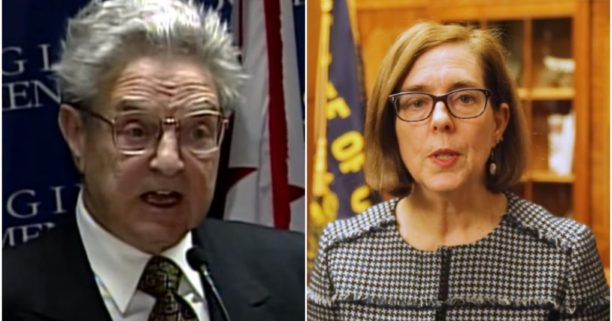 Oregon's Liberal Dem Governor Kate Brown That's DEFYING TRUMP Accepted HUGE Payment From George Soros Just Days Before