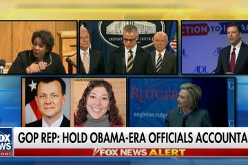 Rep. Ron DeSantis Asks DOJ to Open Criminal Investigation on Comey, Hillary, & Lynch