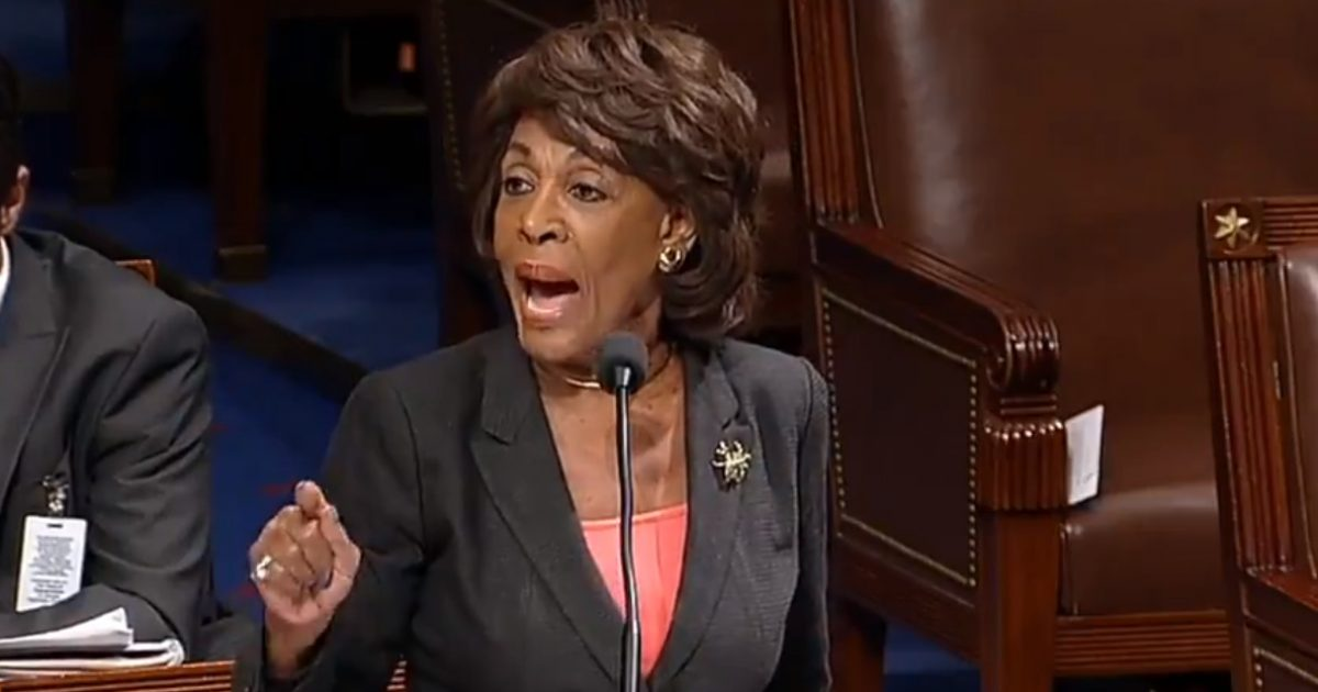 Crazy Aunt Maxine Has A Total BREAKDOWN On The House Floor (Video)