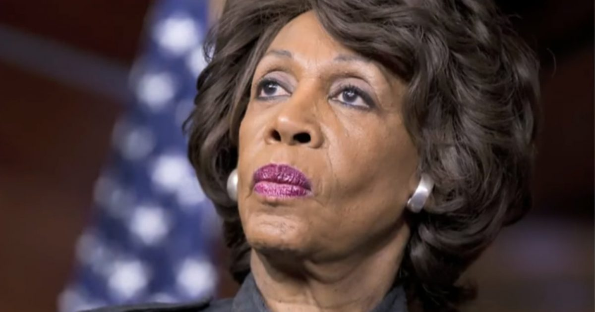 Maxine Waters BUSTED Funneling Over $100K To Her Daughter