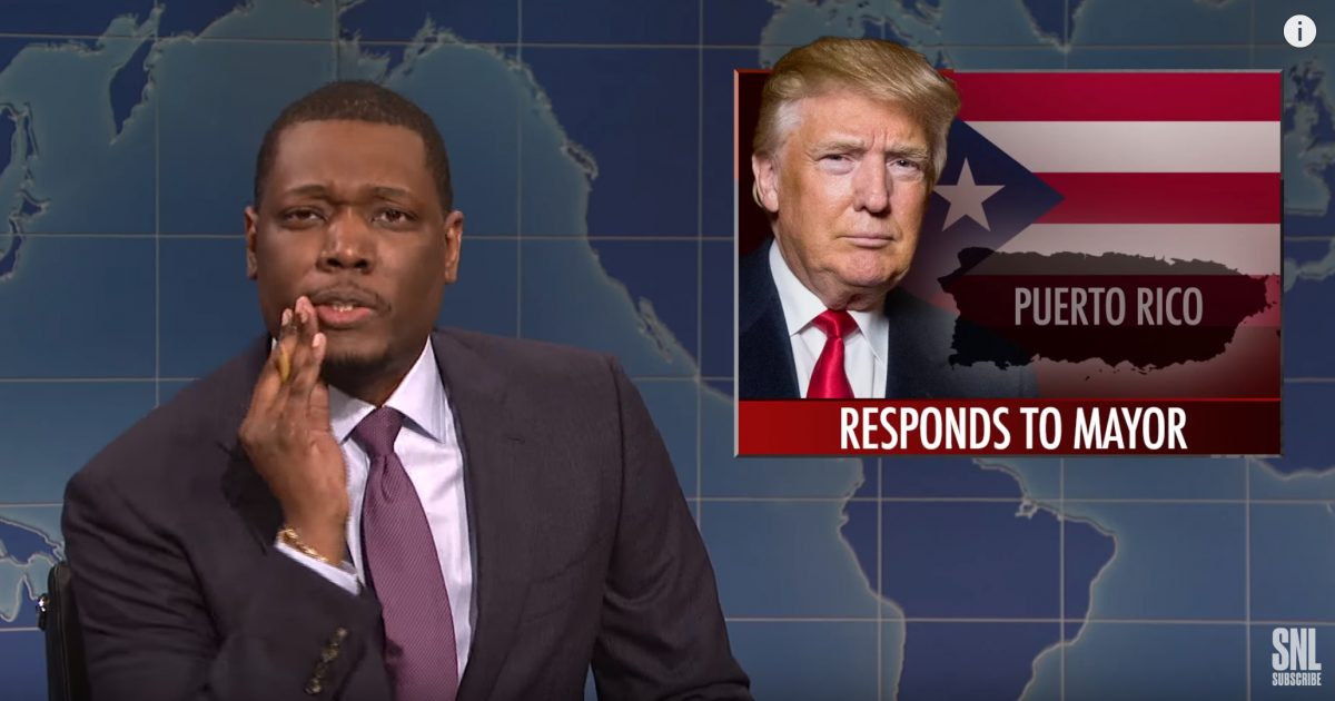 "Why Was It Ok For This SNL Comedian Michael Che To Call Trump ""Cheap Cracker""?"