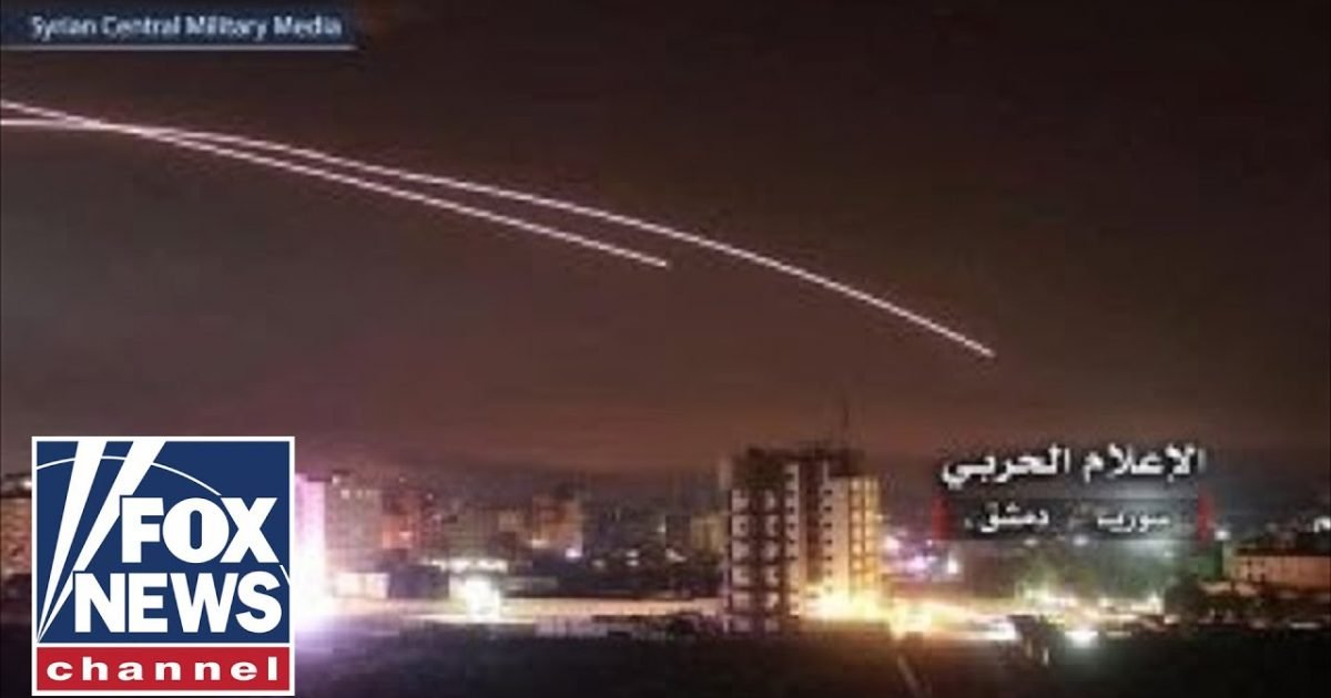 Israel Conducts The Largest Strike In Syria Since Yom Kippur War
