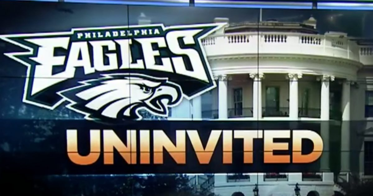 Only One Confirmed Eagles Player Was Set To Visit White House