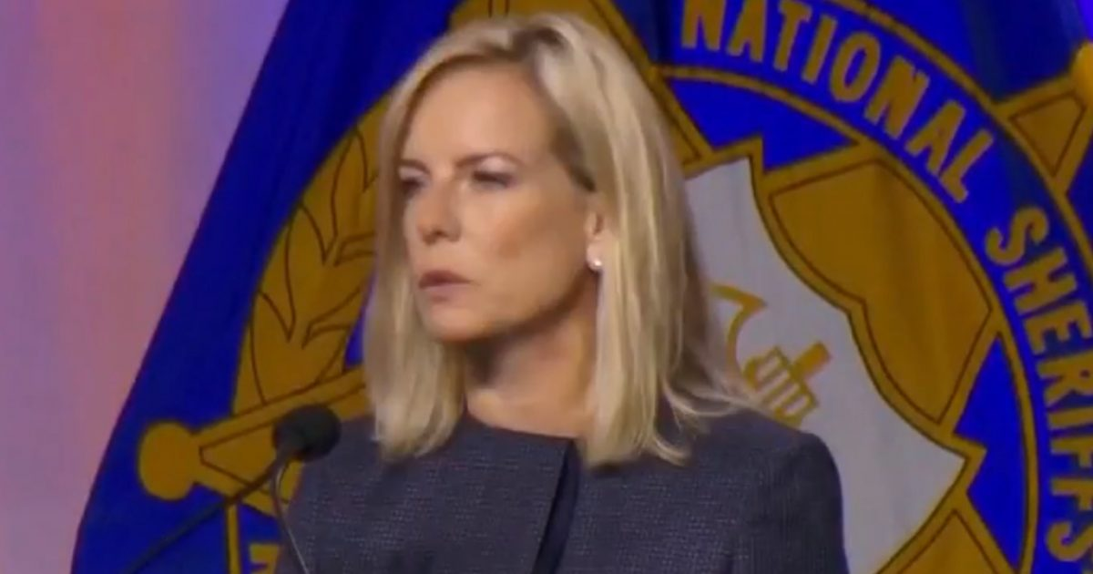 Watch DHS Secretary Kirstjen Nielsen Call Out The Fake News About Illegal Alien Children
