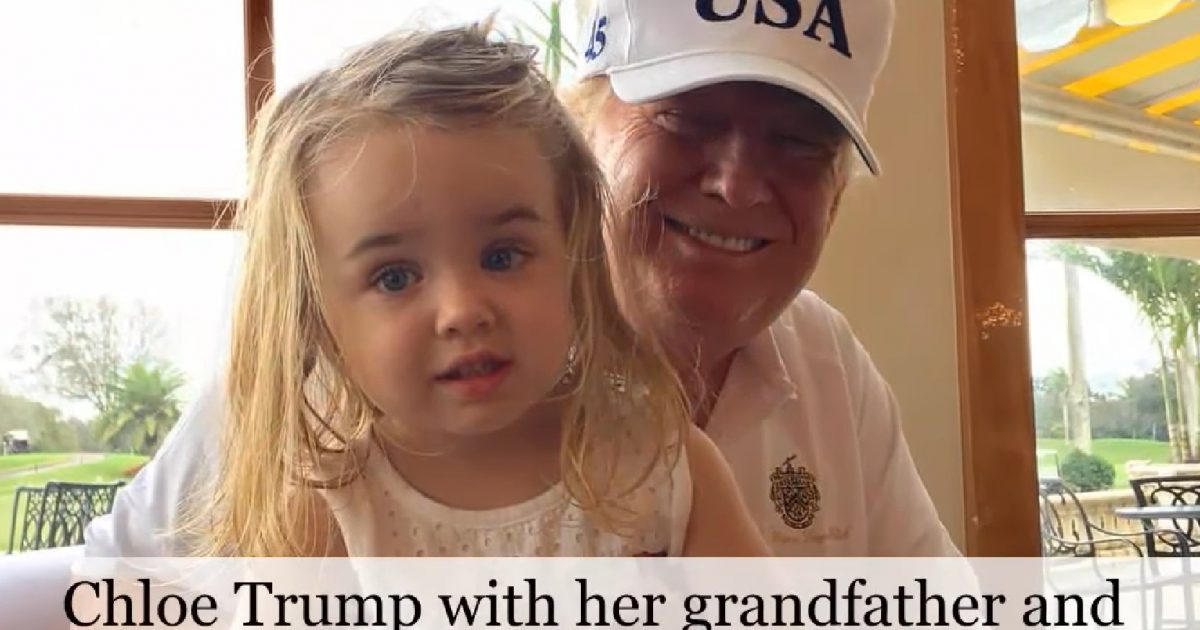 Lefty TV Writer Makes Disturbing Threat Against Donald Trump Jr's 4-Year-Old Daughter Chloe