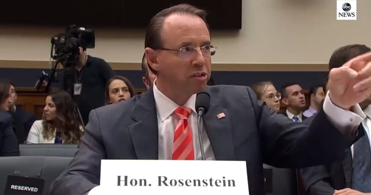 """OUCH! Rep. Jim Jordan SLAMS Rosenstein to His Face: """"We've Caught You Hiding Information!"""" (Video)"""