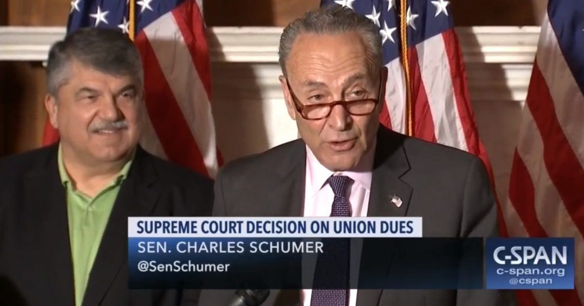 Democrats Introduce Bill To Strip Rights Of Workers Just Won Under Supreme Court Union Ruling