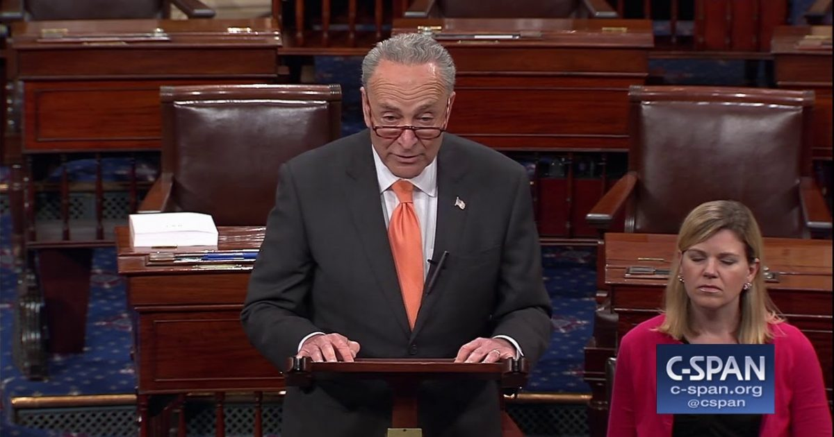 Chuck Schumer Demands Congress Wait Until After Midterm Elections to Confirm Kennedy Replacement (Video