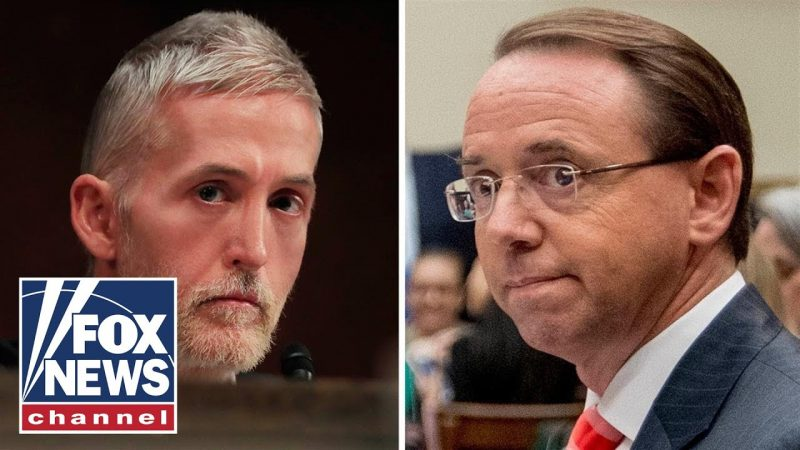 Watch Trey Gowdy Throw Down The Gauntlet & Tells Rod Rosenstein To Show Evidence Of Wrongdoing By Trump's Camp Or End Mueller Probe: 'Finish The Hell Up!'