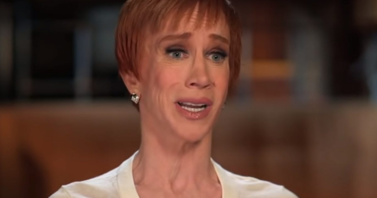 Kathy Griffin Gets Schooled After Blaming 'Racist' Police For Portland Antifa Protests...