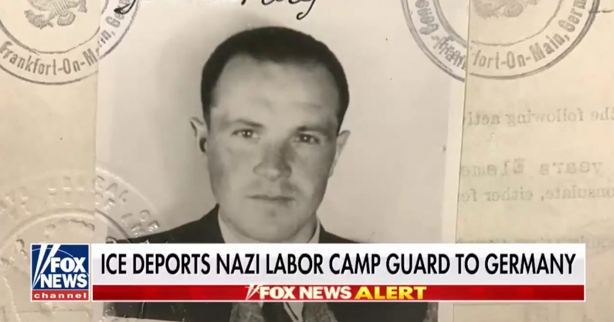 Trump Orders Nazi War Criminal Back To Germany (Video)