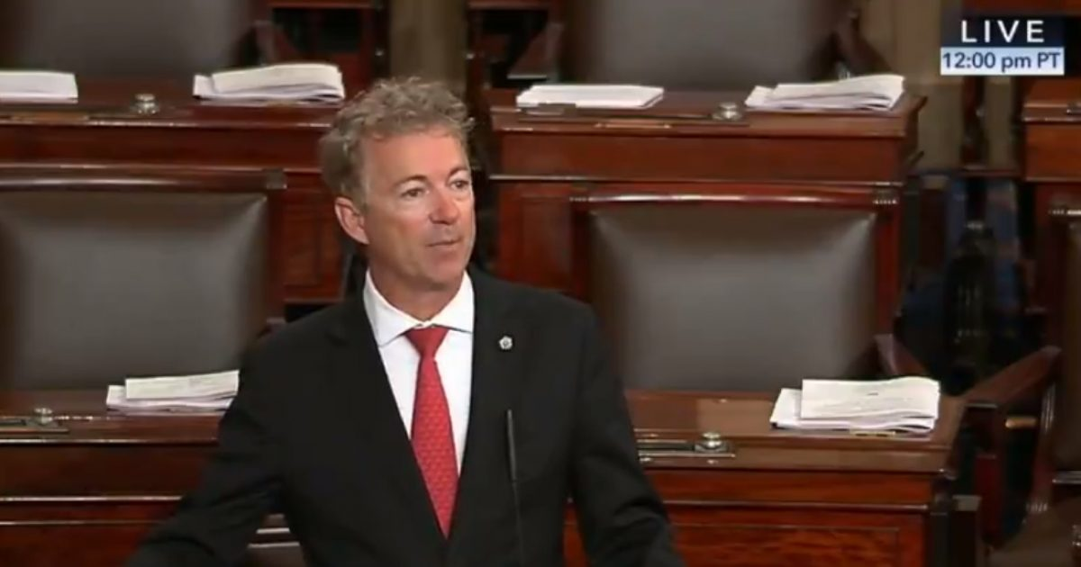 Senator Rand Paul's Effort to Defund Planned Parenthood Blocked By Republicans