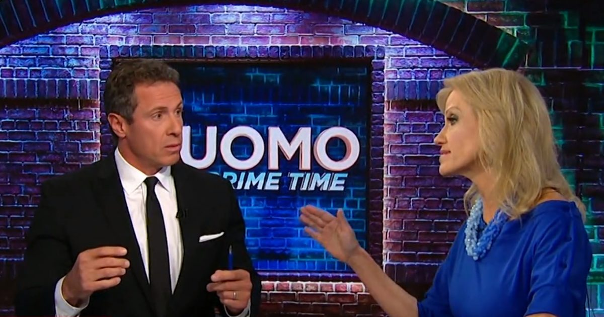 SHOUTFEST! Kellyanne Conway Lays Into Chris Cuomo (Video)