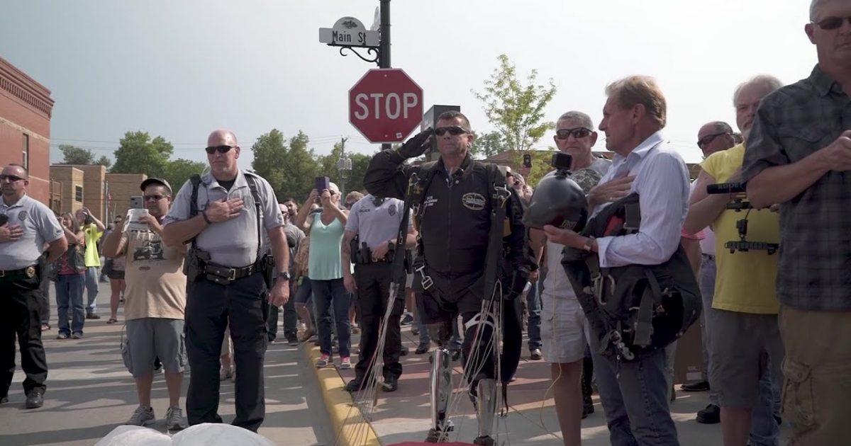 Bikers Salute The Leader Of Their Pack... President Trump