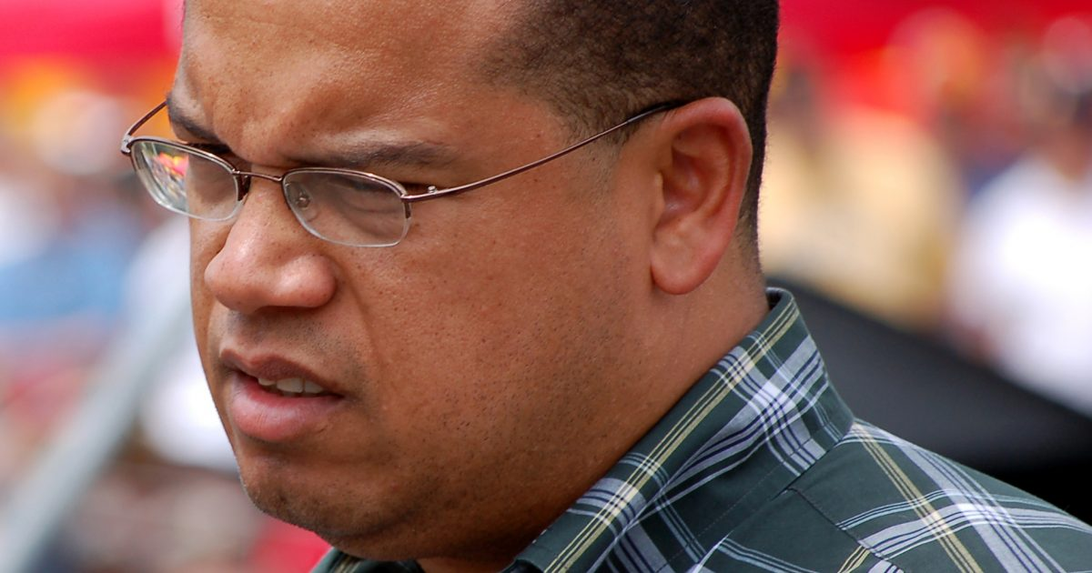 Keith Ellison's Brother Is Attacking His Accusers Online