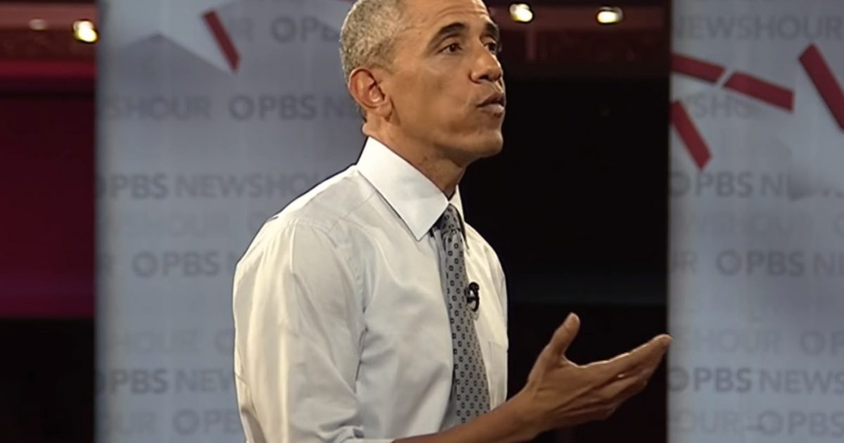 Barack Obama Trashes Trump & Tries to Take Credit For Booming Economy