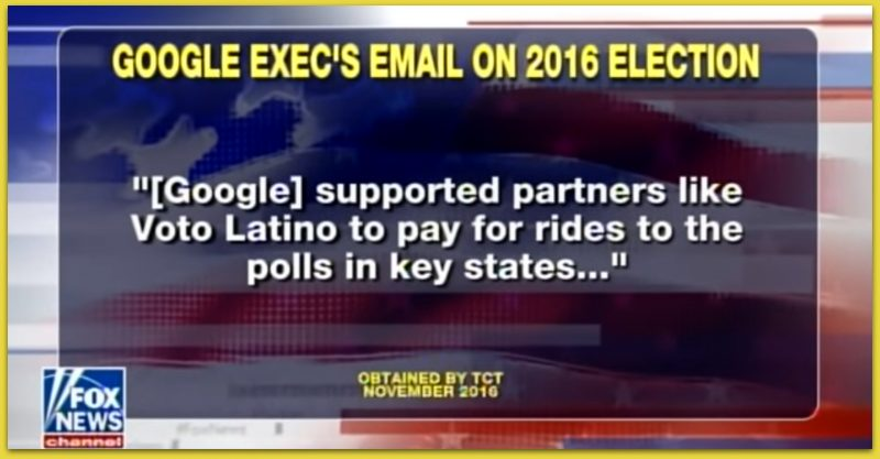 STUNNING: Tucker Reveals Explosive Email From Google Executive