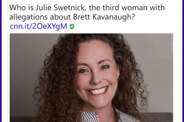 Ex-Boyfriend Filed Restraining Order Against Third Kavanaugh Accuser, Says She Threatened Wife, Baby: 'She's Not Credible At All'