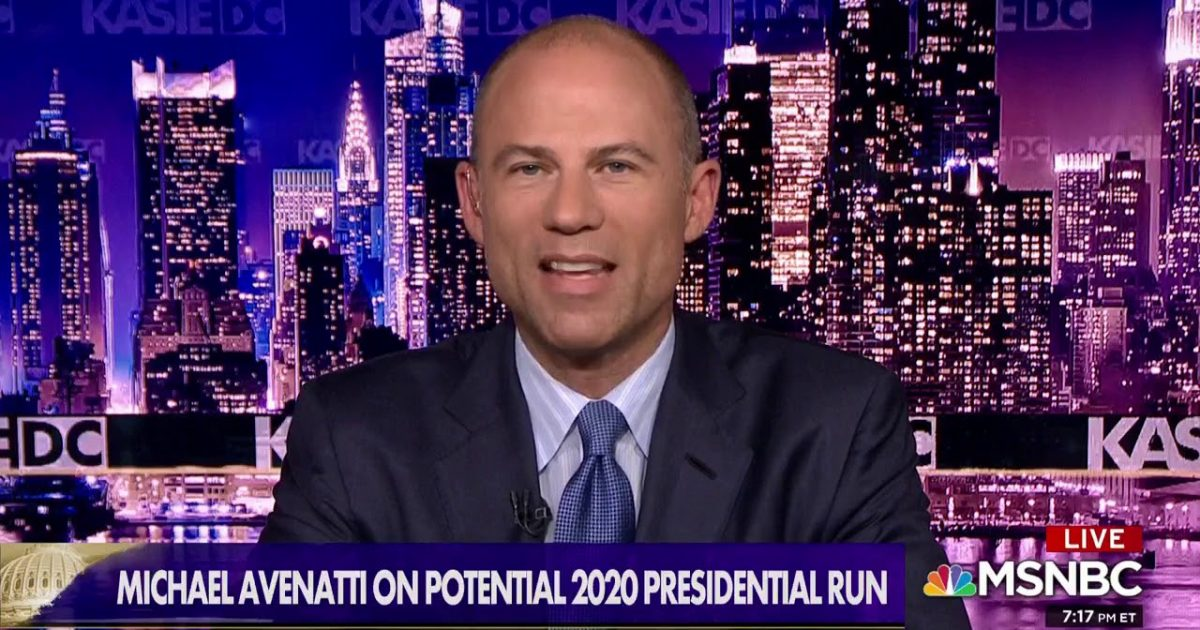 Avenatti Says He Has Been Encouraged By DNC Leadership To Run For President
