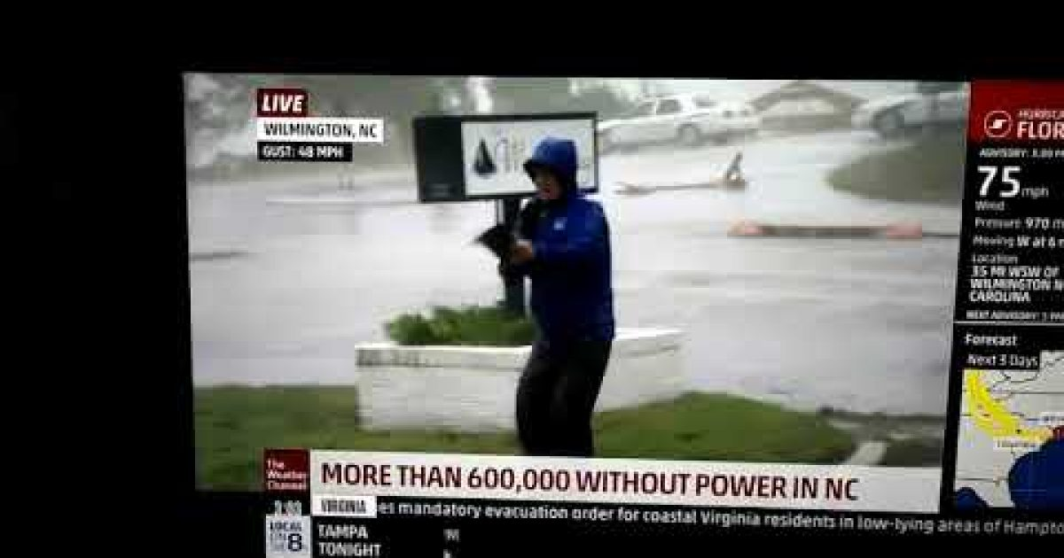 Even The Weather Channel Is Fake News?
