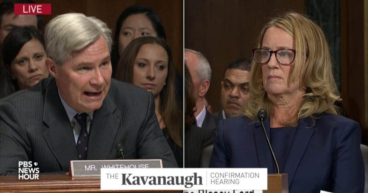 False Allegation Against Kavanaugh Passed To Judiciary Committee By Senator Threatening To Investigate Kavanaugh