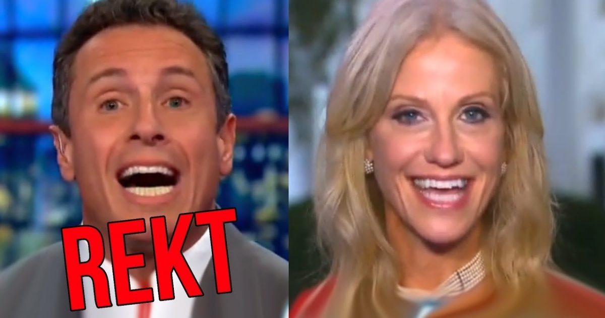 Trump Spox Makes a Fool of CNN's Cuomo