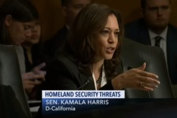 "Kamala Harris Uses Senate Hearing On ""Threats To The Homeland"" To Press FBI About Brett Kavanaugh"