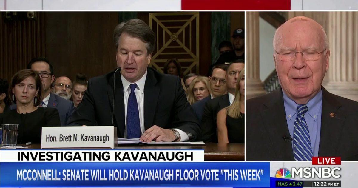 "Andrea Mitchell Wonders If FBI Should Investigate Whether Kavanaugh Was ""Rude"" To Senators"
