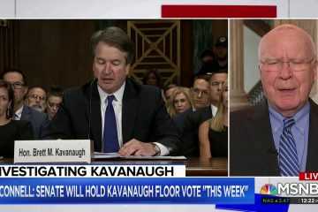 "Andrea Mitchell Wonders If FBI Should Investigate Whether Kavanaugh Was ""Rude"" To Senators"