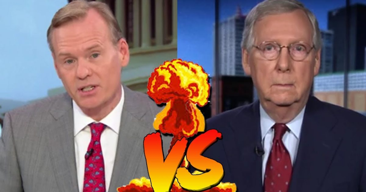 GOP's 'Mad Mitch' Schools CBS Host On Merrick Garland