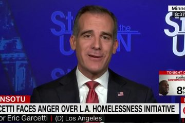 Jake Tapper Presses Mayor Garcetti On Campaigning For POTUS While L.A. Suffers From Homeless Crisis