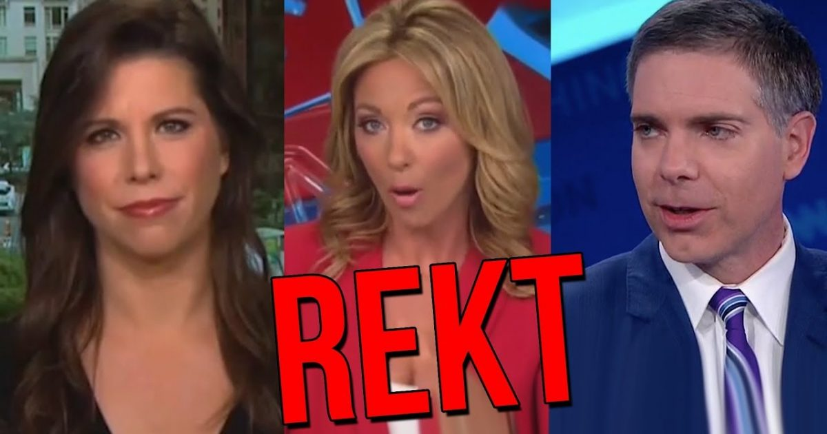 LOL: CNN Host Gets REKT After Defending Anti-Kavanaugh Democrat Mob
