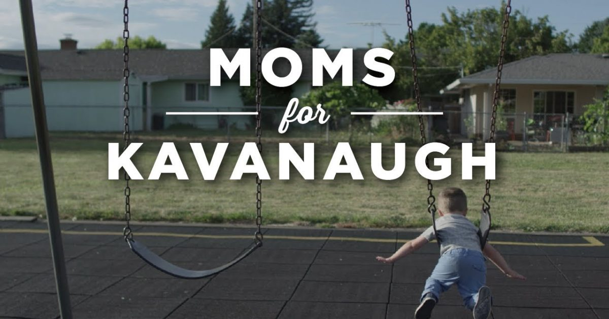 Moms For Kavanaugh Release Powerful Video
